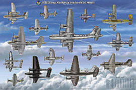 US Army Airplanes of World War II